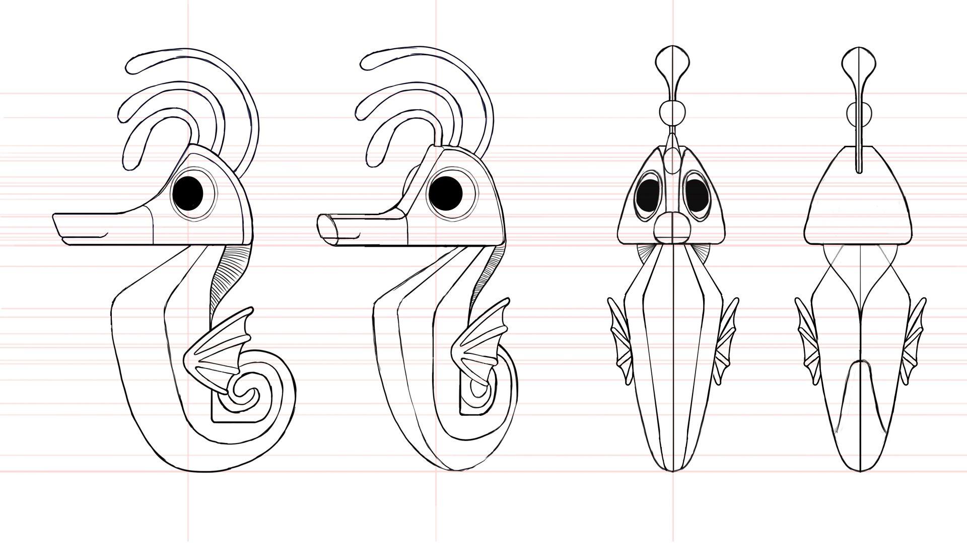 Asn Seahorse Turnaround Male